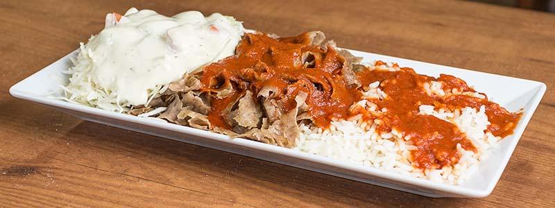 3. Kebab Riisillä