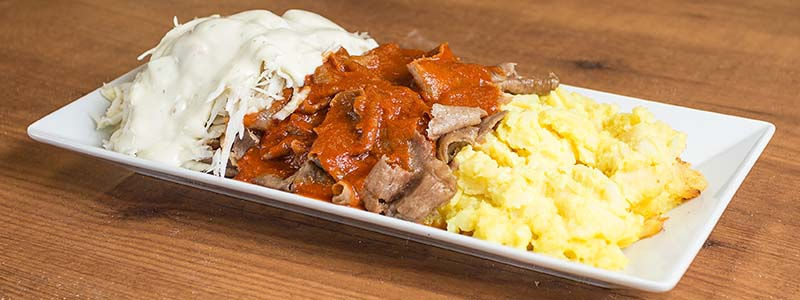 8. Kebab Kermaperunoilla
